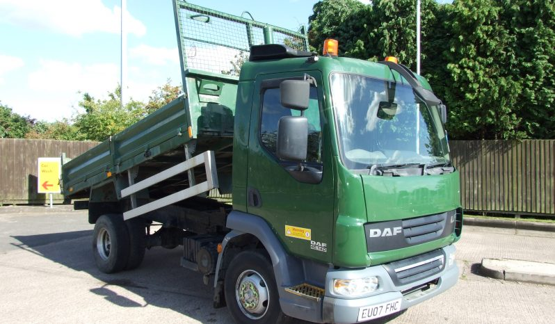 DAF TIPPER ONLY 179622KMS full