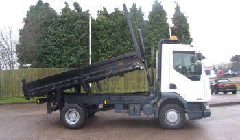 side view of an ex council tipper truck