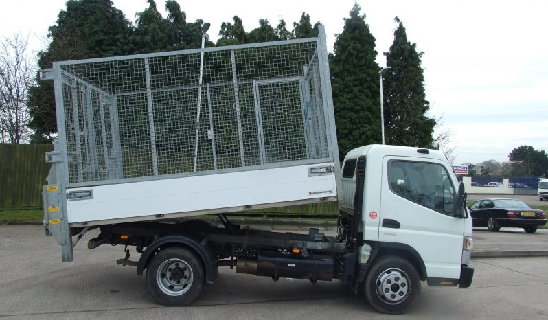 mitsubishi canter tipper truck in use
