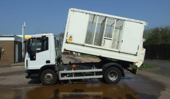 IVECO 75 E 16 MESH TIPPER full