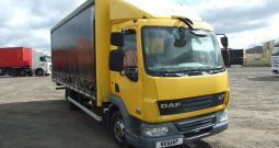 CHOICE OF 5 DAF 45 160 CURTAINSIDER