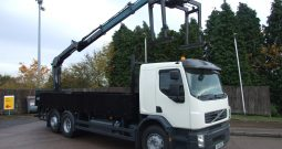 VOLVO REAR MOUNT HIAB 144 BRICK GRAB