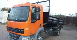 EX COUNCIL DAF TIPPER 2012 79,528 KMS ONLY