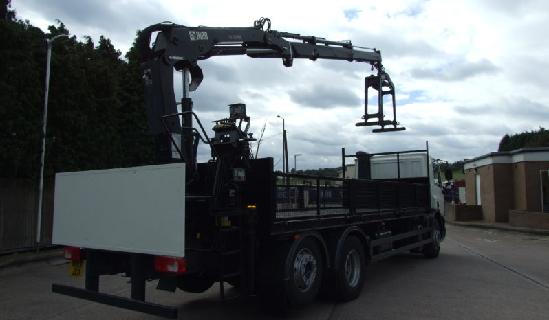 2013 DAF 75 310 WITH HIAB 122 CRANE full