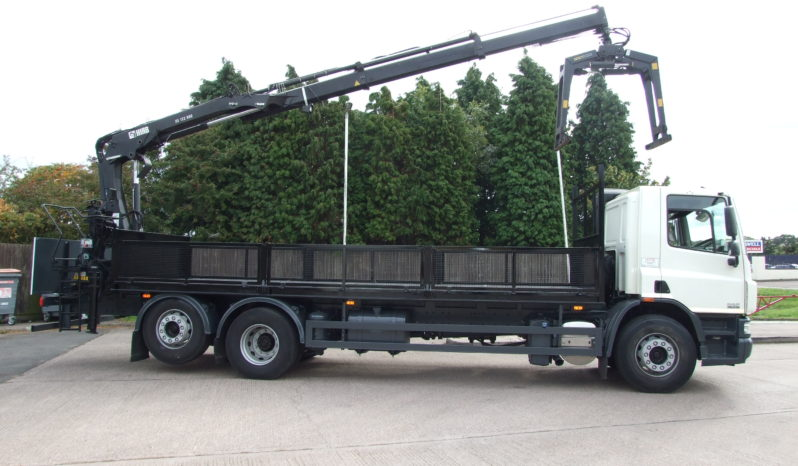 right hand side shot of a daf crane