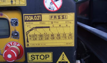 ISUZU NQR FITTED WITH FASSI F50 CRANE full