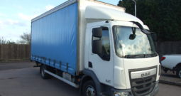 NEW SHAPE DAF 2014 CURTAINSIDER