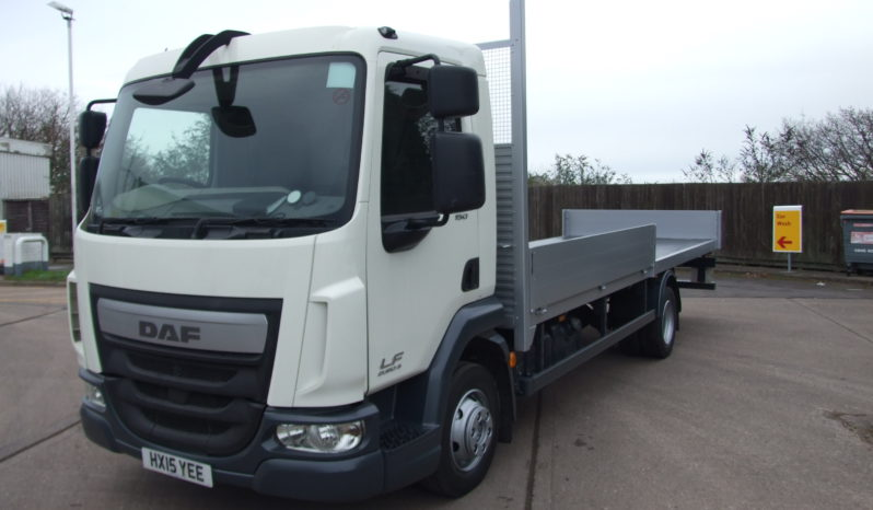 front left hand of a 2015 daf truck