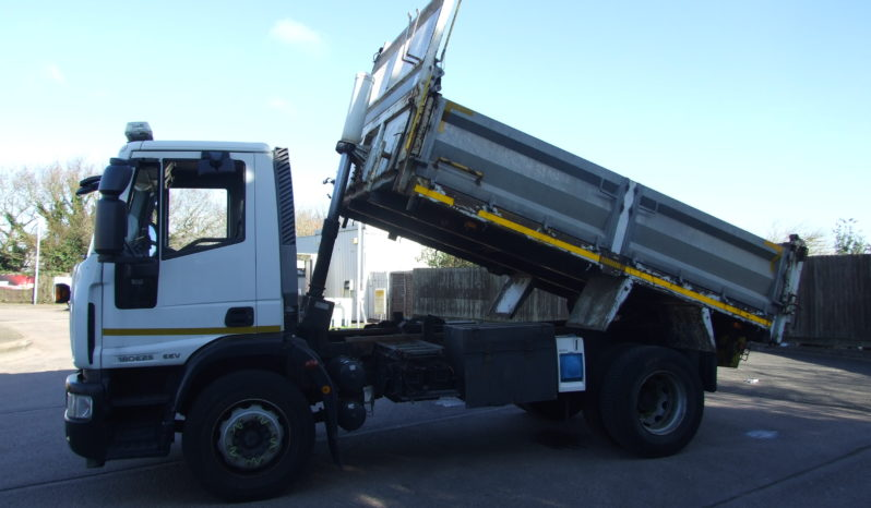 left hand side view of a Iveco 2013 plate tipper truck