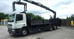 2013 DAF 75 310 WITH HIAB 144