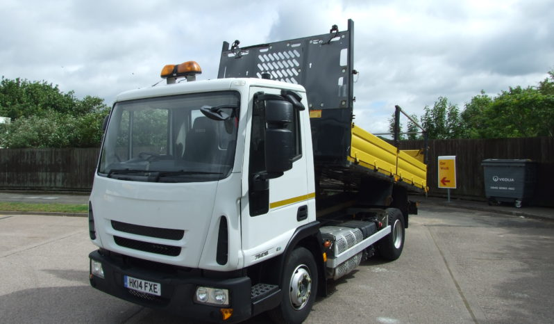 EURO 6 2014 IVECO TIPPER EX HIGHWAY MAINTENANCE full