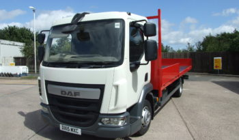 EURO 6 2015 DAF 45 150 SCAFFOLD 142,469 KMS full