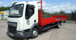 EURO 6 2015 DAF 45 150 SCAFFOLD 142,469 KMS