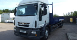 IVECO 180 E25 63 REG SLEEPER CAB SCAFFOLD
