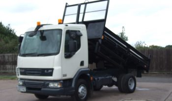 CHOICE OF 4 EX COUNCIL DAF 2007 TIPPERS VERY LOW KMS full