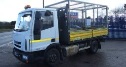 IVECO 75 E16 CAGED TIPPER, EURO 6 ONLY 57,938 KMS RECORDED
