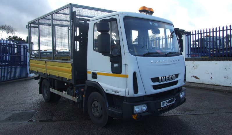 IVECO 75 E16 CAGED TIPPER, EURO 6 ONLY 57,938 KMS RECORDED full