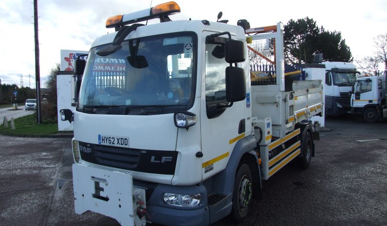 EX COUNCIL DEMOUNT DAF 45 160 TIPPER WITH SNOW PLOUGH full