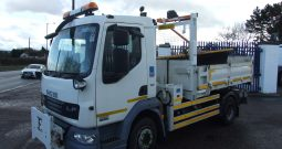 EX COUNCIL DEMOUNT DAF 45 160 TIPPER WITH SNOW PLOUGH