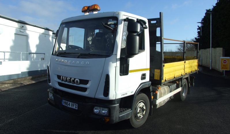 EURO 6 2014 14 REG IVECO 75E16 TIPPER ONLY 29,762 KMS RECORDED full