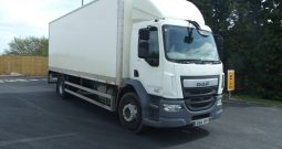 DAF 55 220 EURO 6 25.5FT BOX VAN, 18 TONNE,