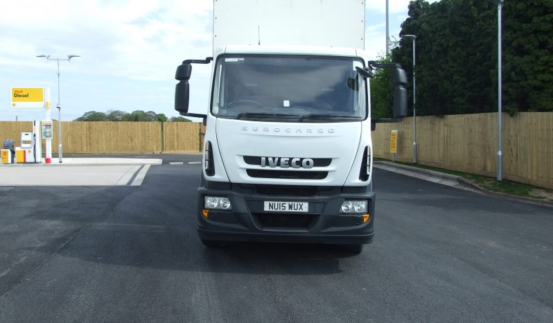 EURO 6 IVECO 180 E25 CURTAINSIDE WITH TAIL LIFT full