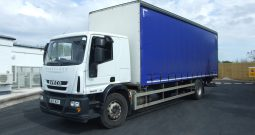 EURO 6 IVECO 180 E25 CURTAINSIDE WITH TAIL LIFT