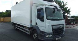 CHOICE OF 3 DAF 55 220 16 TONNE REFRIGERATED BOX VANS