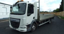 DAF 45 150, EURO 6, 2015 DROPSIDE WITH AIR SUSPENSION