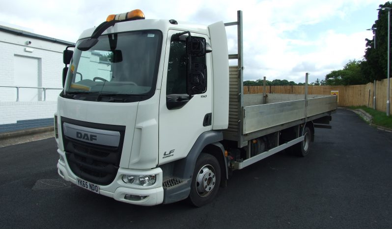 DAF 45 150, EURO 6, 2015 DROPSIDE WITH AIR SUSPENSION full