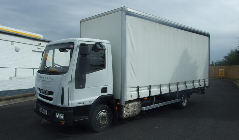 ONLY 46,200 Kms RECORDED, IVECO 75 E16  EURO 6 CURTAIN full