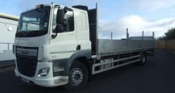 DAF CF 250 EURO 6 DROPSIDE, ONLY 31,803KMS RECORDED