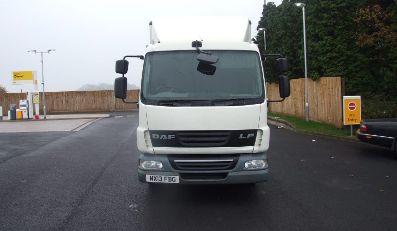 CREW CAB , DAF BOX VAN full