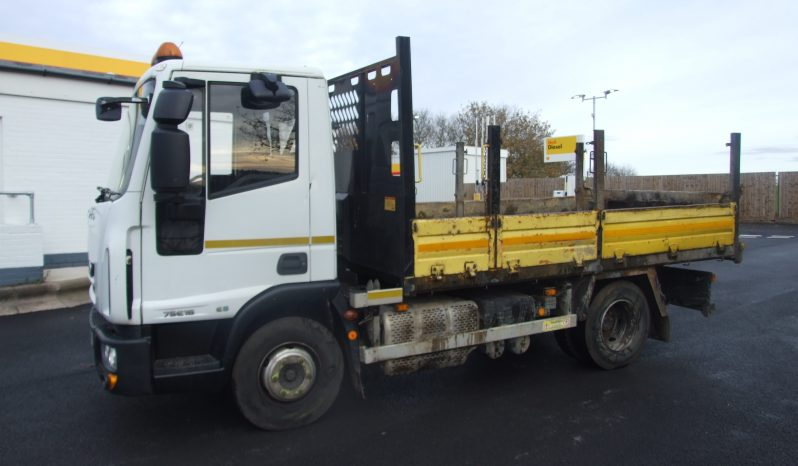 IVECO 75 E16  EURO 6 TIPPER ONLY 66,778 KMS RECORDED full