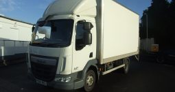 DAF LF 45 150 EURO 6 BOX WITH TAIL LIFT
