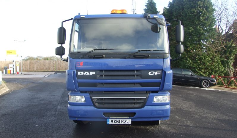 DAF CF 75 26 TONNE AIR SUSPENSION HIAB 166 full