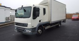 2013 DAF LF 180, 7.5 TONNE 18FT BOX WITH TAIL LIFT