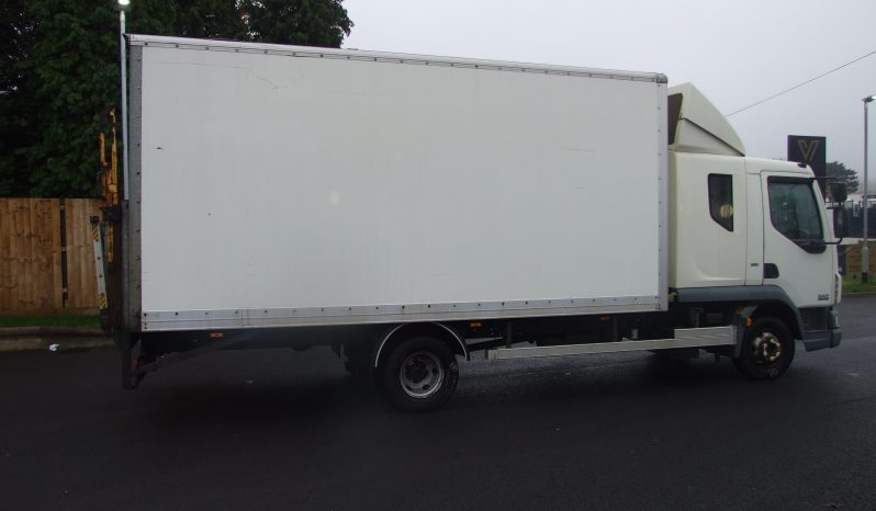 2013 DAF LF 180, 7.5 TONNE 18FT BOX WITH TAIL LIFT full