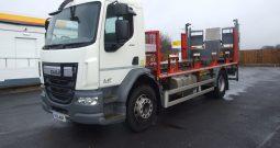 DAF LF 250, 18 TONNE EX BOC CHASSIS CAB EURO 6