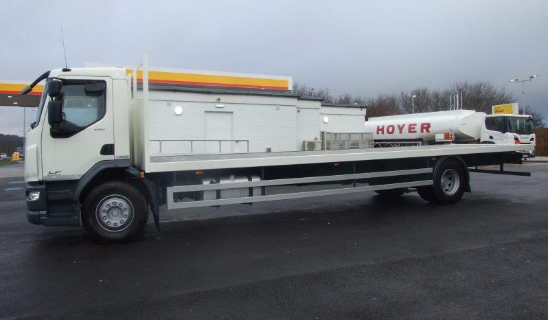 DAF LF 260 18000 KGS, EURO 6, 28FT FLAT-BED full