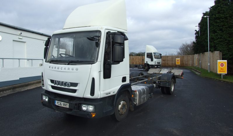 IVECO 75 E16 EURO 6 2016 ONLY 144,898 KMS RECORDED full