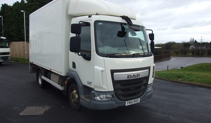 DAF LF 150 2015 15 REG BOX WITH TAIL LIFT full