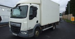 DAF LF 150 2015 15 REG BOX WITH TAIL LIFT
