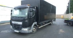 DAF LF 45 2015 15 REG, BOX WITH TAIL LIFT , ONLY 69,219 KMS RECORDED