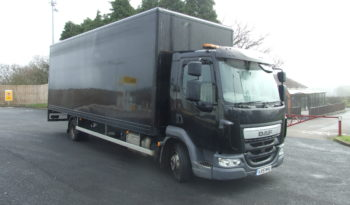 DAF LF 45 2015 15 REG, BOX WITH TAIL LIFT , ONLY 69,219 KMS RECORDED full