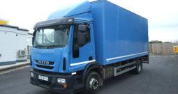 IVECO 150 E25 BOX VAN EURO 6