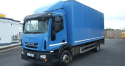 IVECO 150E25 BOX VAN WITH TAIL LIFT