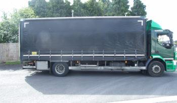 VOLVO FLV240 22FT CURTAIN, 2013 12, EURO 5 full