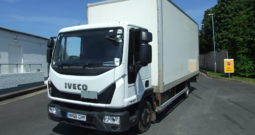 IVECO 75E16 2016 EURO 6 BOX VAN WITH TAIL LIFT