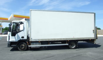 IVECO 75E16 2016 EURO 6 BOX VAN WITH TAIL LIFT full